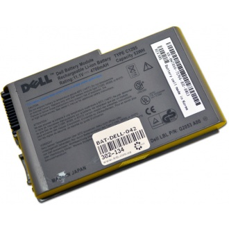 Батарея для ноутбука DELL Latitude D600 D610 / 11.1V 4700mAh (53Wh) GREY ORG (C1295)