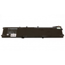 Батарея для ноутбука DELL XPS 9550 Precision 5510 / 11.4V 7260mAh (84Wh) BLACK ORIG (4GVGH)
