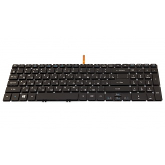 Клавиатура для ноутбука ACER Aspire V5-552 V5-552G V5-552P V5-552PG V5-572 V5-572G V5-572P V5-572PG V5-573 V5-573G V5-573P V5-573PG V7-581G V7-581P V7-581PG V7-582P V7-582PG, Aspire TimeLine M5-583 M5-583T BLACK RU BackLight