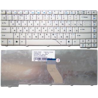 Клавиатура для ноутбука ACER Aspire 4210 4220 4310 4320 4430 4510 4520 4710 4720 4910 4920 5220 5320 5520 5720 5720g 5930 6920 WHITE RU