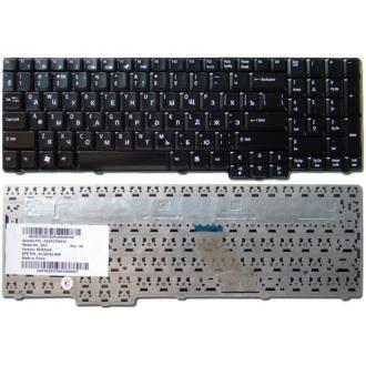 Клавиатура для ноутбука ACER Aspire 5335 5535 5735 7000 7100 7110 7220 7320 7520 7700 7720 8735 8530 9300 9400 9410 9420 9425 9920, Acer Extensa 5235 5635 7220 7620, Acer TravelMate 5100 5110 5600 5610 5620, eMachines E528 E728 BLACK GLOSSY RU