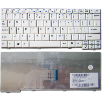 Клавиатура для ноутбука ACER Aspire One 531 A110 A150 D150 D250 ZG5 eMachines 250 WHITE US