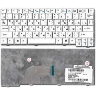 Клавиатура для ноутбука ACER Aspire One 531 A110 A150 D150 D250 ZG5, eMachines 250 WHITE RU