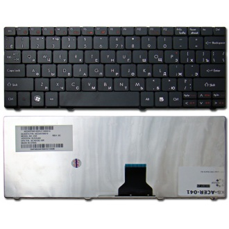 Клавиатура для ноутбука ACER Aspire One 721 751 752 753 772 1410 1551, TimeLine 1810 1830T, Ferrari One 200 BLACK RU