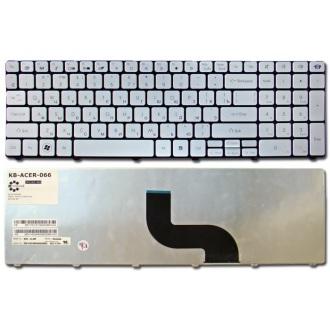 Клавиатура для ноутбука Packard Bell TM85 ENTE69BM LM81 LM82 LM85 LM86 LM87 LM94 LM98 TE69 TK37 TK81 TK83 TK85 TK86 TK87 TM81 TM86 TM87 TM89 TM93 TM94 TM97 TM98 TM99 TX86 SILVER RU