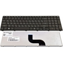 Клавиатура для ноутбука Packard Bell TM85 ENTE69BM LM81 LM82 LM85 LM86 LM87 LM94 LM98 TE69 TK37 TK81 TK83 TK85 TK86 TK87 TM81 TM86 TM87 TM89 TM93 TM94 TM97 TM98 TM99 TX86 BLACK RU