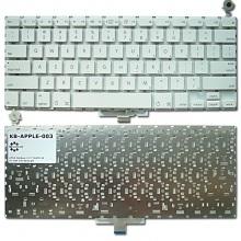 "Клавиатура для ноутбука APPLE MacBook 13.3"" WHITE US BackLight (Intel)"