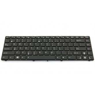 Клавиатура для ноутбука ASUS U80 U80A U80V BLACK US Backlight