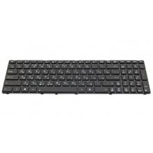 Клавиатура для ноутбука ASUS F52 F90 K50 K60 K61 K62 K70 K72 P50 X5AC X5DI X66 BLACK FRAME BLACK RU