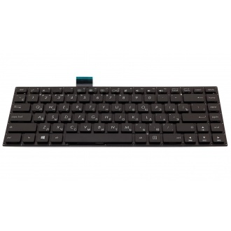 Клавиатура для ноутбука ASUS VivoBook E402 E402M E402MA E402SA E402S L402S L402SA R417 R417S R417SA BLACK RU