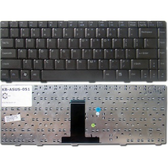 Клавиатура для ноутбука ASUS F80 F81 F83 X82 X85 X88 BLACK US