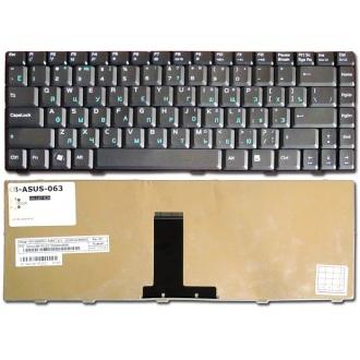 Клавиатура для ноутбука ASUS F80 F81 F83 X82 X85 X88 BLACK RU