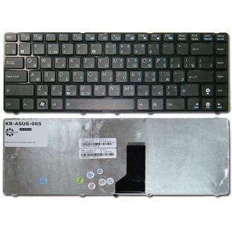 Клавиатура для ноутбука ASUS A42 A82 A83 B43 K42 K43 K84 T43 N43 N82 P42F U30 U31 U35 U36 U40 U41 U45 UL30 UL41 UL80 X34 X42 X43 X44 BLACK FRAME BLACK RU