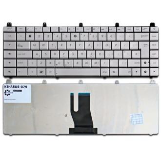 Клавиатура для ноутбука ASUS N45 N45SF N45SL N45VM SILVER US