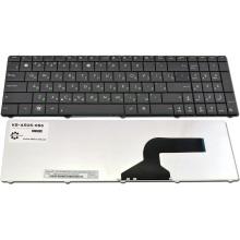 Клавиатура для ноутбука ASUS A52 A53 A73 B53 F50 G51 G53 G60 G72 G73 K52 N53 N60 N61 N70 N71 N73 N90 P52 P53 U50 UL50 UX50 X52 X54 X55A X61 Lamboghini VX7 BLACK RU (кнопки старого образца)