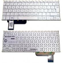 Клавиатура для ноутбука ASUS VivoBook S200 S200E Q200 Q200E X201 X201E X202 X202E X205T E200H E200HA F201 F201E F202 F202E R200 R200E WHITE US