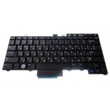 Клавиатура для ноутбука DELL Latitude E5300 E5400 E5500 E6400 E6410 E6500 E6510, Precision M2400 M2500 M4200 M4400 M4500 BLACK RU