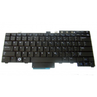 Клавиатура для ноутбука DELL Latitude E5300 E5400 E5500 E6400 E6410 E6500 E6510, Precision M2400 M2500 M4200 M4400 M4500 BLACK US