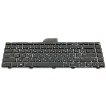 Клавиатура для ноутбука DELL Inspiron 14 3421 3437, Inspiron 14R 5421 5437, Inspiron 15Z 5523, Latitude 3440, Vostro 2421 BLACK RU