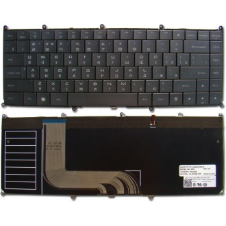 Клавиатура для ноутбука DELL Adamo 13-A101 BLACK RU BackLight