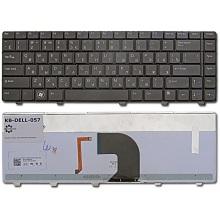 Клавиатура для ноутбука DELL Vostro 3300 3400 3500 BLACK RU BackLight