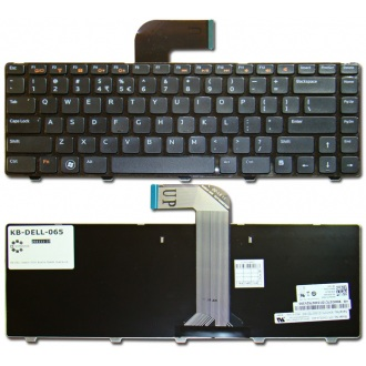 Клавиатура для ноутбука DELL Inspiron 3520 5520 7520 M4040 M4110 M5040 M5050 N4050 N4110 N5040 N5050, Vostro 1440 1450 1540 1550 2520 3350 3450 3460 3550 3555 3560 V131 BLACK FRAME BLACK BLACK FRAME BLACK US