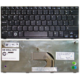 Клавиатура для ноутбука DELL Inspiron Mini 1012 1018 BLACK US