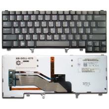 Клавиатура для ноутбука DELL Latitude E5420 E5430 E6220 E6230 E6320 E6330 E6420 E6430 BLACK RU BackLight (с поинтстиком)