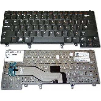 Клавиатура для ноутбука DELL Latitude E5420 E5430 E6220 E6230 E6320 E6330 E6420 E6430 BLACK US