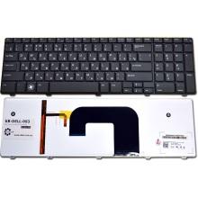 Клавиатура для ноутбука DELL Vostro 3700 BLACK RU BackLight