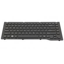 Клавиатура для ноутбука FUJITSU LifeBook LH522 LH532 BLACK FRAME BLACK US