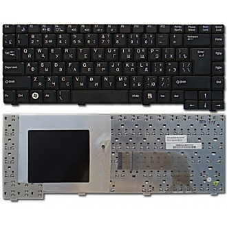 Клавиатура для ноутбука FUJITSU Amilo Pa1510 Pa2510 Pi1505 Pi1510 Pi1536 Pi1537 Pi1556 Pi2510 Pi2512 Pi2515 BLACK RU