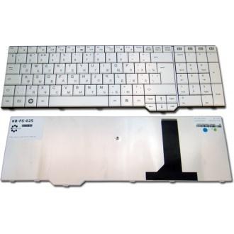 Клавиатура для ноутбука FUJITSU Amilo Li3910 Pi3625 Xa3530 Xi3650 WHITE RU
