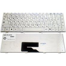 Клавиатура для ноутбука FUJITSU Amilo A1310 A1310G A1655 A1655G L1310 L1310G Li1705 L7320 Pa1538, Amilo Pro V2030 V2035 V2055 V3515 / MSI MegaBook PR200 PR300 PR400 WHITE RU