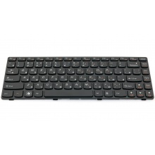 Клавиатура для ноутбука LENOVO IdeaPad B470 B475 B475A B475AM B475EL B475G B475GM G470 G475 G475E G475G G475L V470 V470A V470C BLACK FRAME BLACK RU