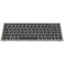Клавиатура для ноутбука LENOVO IdeaPad Flex 14 G400AS G400S G400AT G400AM G405S Z410 GRAY FRAME BLACK RU