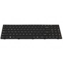 Клавиатура для ноутбука LENOVO IdeaPad 100-15IBY 300-15 B50-10 BLACK FRAME BLACK US