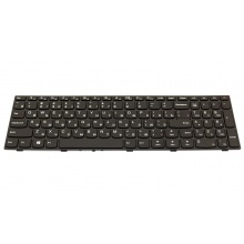 Клавиатура для ноутбука LENOVO IdeaPad 110-15ISK 110-17ACL 110-17IKB 110-17ISK BLACK FRAME BLACK RU
