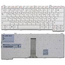 Клавиатура для ноутбука LENOVO 3000 C100 C200 N100 N200 N220 N430 N440 N500 V100 V200 Y500, IdeaPad C460 C461 C462 C466 C510 F31 F41 G230 G420 G430 G450 G530 N220 N440 Y300 Y330 Y410 Y430 Y510 Y520 Y530 Y710 Y730 WHITE RU