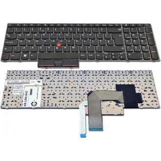 Клавиатура для ноутбука LENOVO ThinkPad Edge E520 E525 BLACK FRAME BLACK US