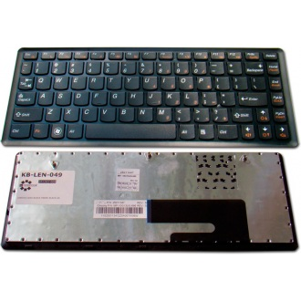 Клавиатура для ноутбука LENOVO IdeaPad U260 BLACK FRAME BLACK US
