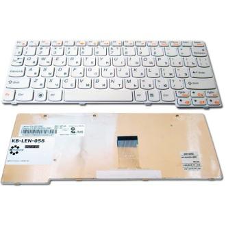 Клавиатура для ноутбука LENOVO IdeaPad U160 U165 WHITE FRAME WHITE RU