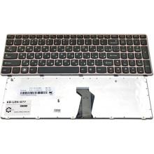 Клавиатура для ноутбука LENOVO IdeaPad B570 B575 B580 B590 V570 V580 Z570 PINK FRAME BLACK RU