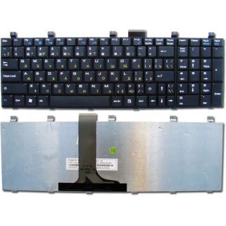Клавиатура для ноутбука MSI MegaBook MS-1683 CR600 / LG E500 BLACK RU