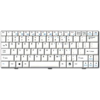 Клавиатура для ноутбука MSI Wind U90 U90X U100 U110 U120 U130 WHITE US