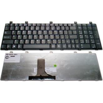 Клавиатура для ноутбука RoverBook Explorer W700 W700WH, Nautilus V572WH V770VHP V771VHP, Navigator W700 W700WH, Pro 700WH P735 P735VHB P740 BLACK RU