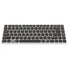 Клавиатура для ноутбука SONY VAIO VPC-Y SILVER FRAME BLACK US