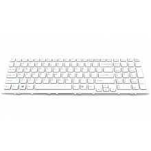 Клавиатура для ноутбука SONY VAIO VPC-EL WHITE FRAME WHITE US