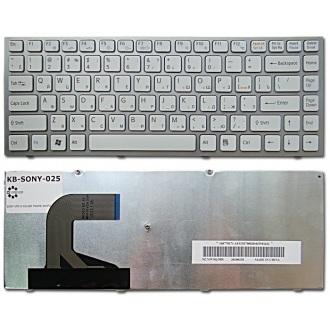 Клавиатура для ноутбука SONY VAIO VPC-S SILVER FRAME WHITE RU