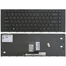Клавиатура для ноутбука SONY VAIO VPC-EA BLACK FRAME BLACK RU